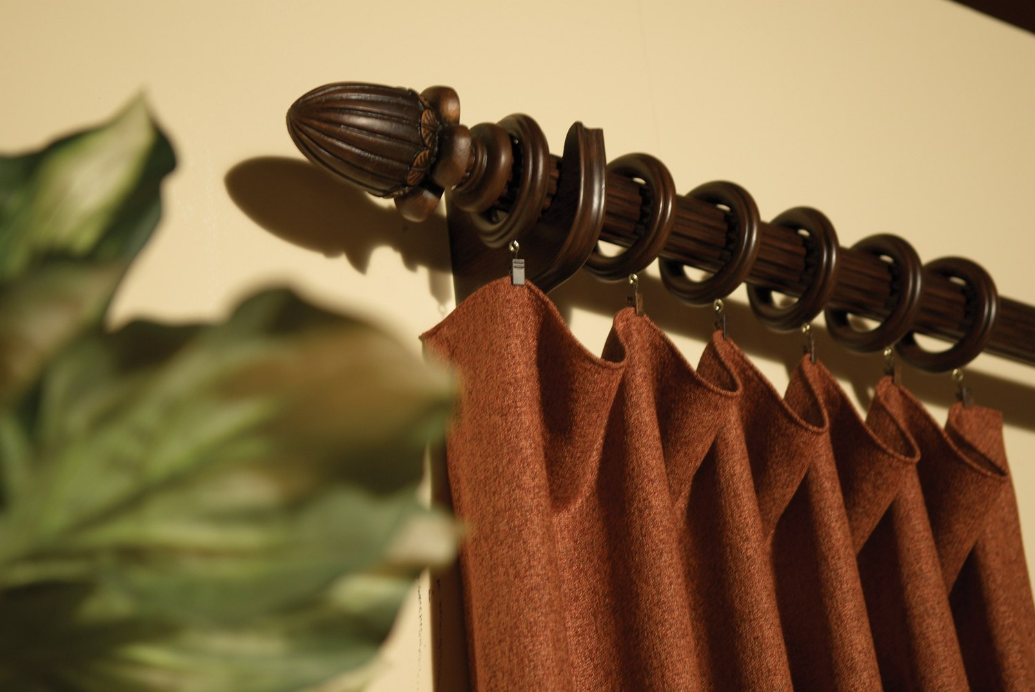flowing drapery - Decorative Curtain Rods
