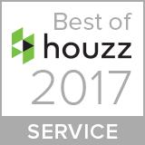 Best of Houzz 2017 Customer Service Award