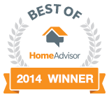 Best Of Home Advisor Award-2014