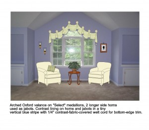 "Alt=""Arched Oxford Valance virtual design rendering jpg"""