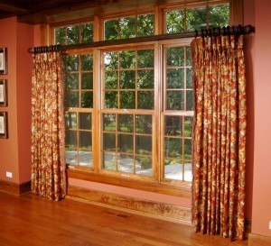 """2 inch wood pole with floor length drapes jpg"""